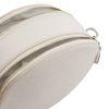Wit rond schoudertasje