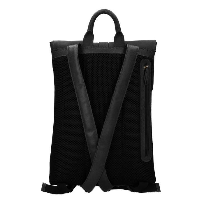 Zwarte laptop rugzak