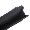 Zwart schoudertasje met croco print