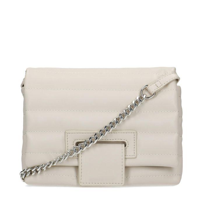 Off white puffer schoudertas