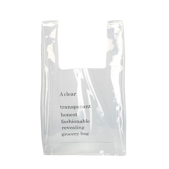 Transparante shopper