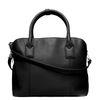 Zwarte handtas met laptopvak