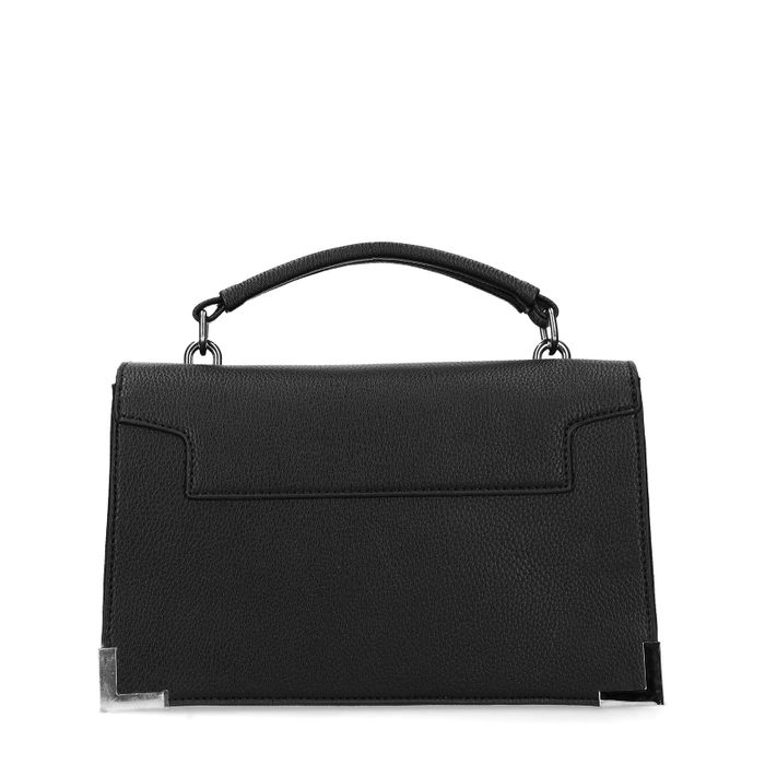 Zwart schoudertasje