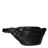 Zwart heuptasje met crocoprint