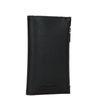 Zwarte portemonnee met panterprint