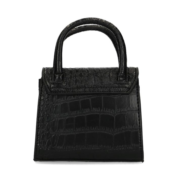 Mini bag met crocoprint