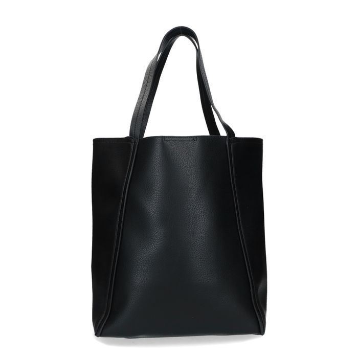 Zwarte shopper