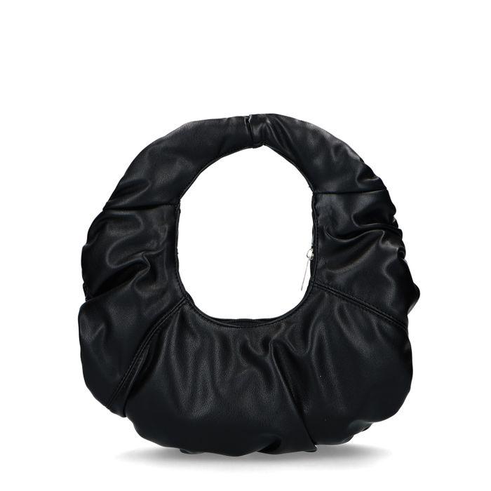 Vivian x Sacha zwarte croissant bag