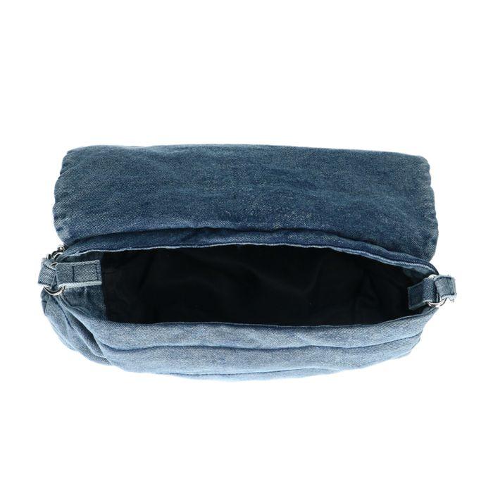 Schoudertas in jeanslook