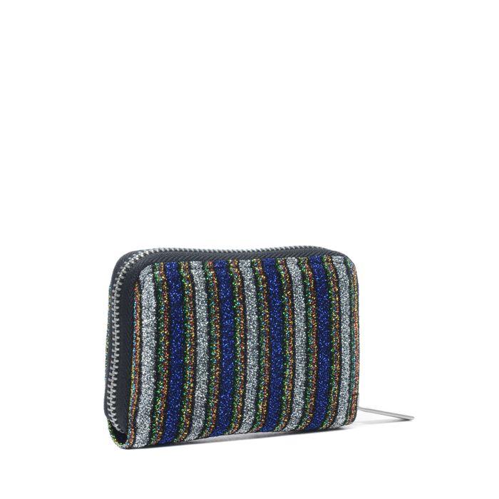 Kleine portemonnee met glitters