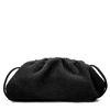 Zwarte teddy pouch