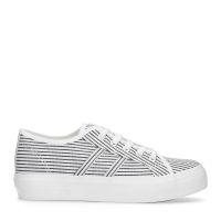 b0a88ca5cdd sale Witte lage sneakers met strepen 39,99 31,99