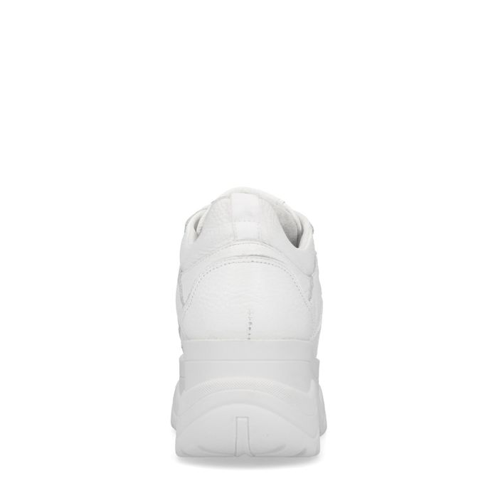 Witte chunky sneakers