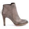 Bottines basses stiletto - beige