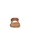 Sandales en cuir avec bride - marron