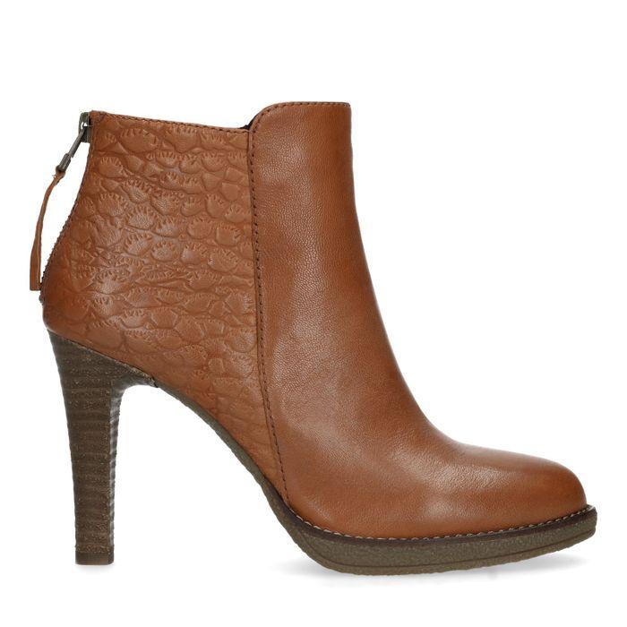 398ebbf0fa4c30 Stiletto-Stiefeletten - braun - Damenschuhe – SACHA