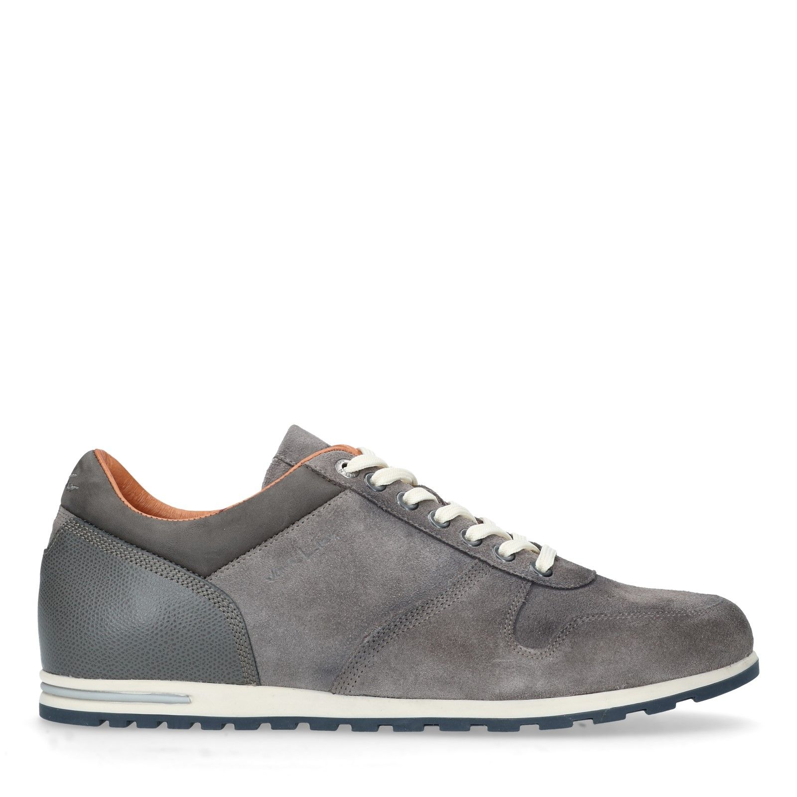 82e1c86759080b Grijze leren sneakers - Heren | MANFIELD