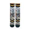 XPOOOS sokken met fietsenprint Brooklyn Bridge