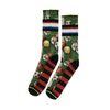 XPOOOS sokken met voetbalprint