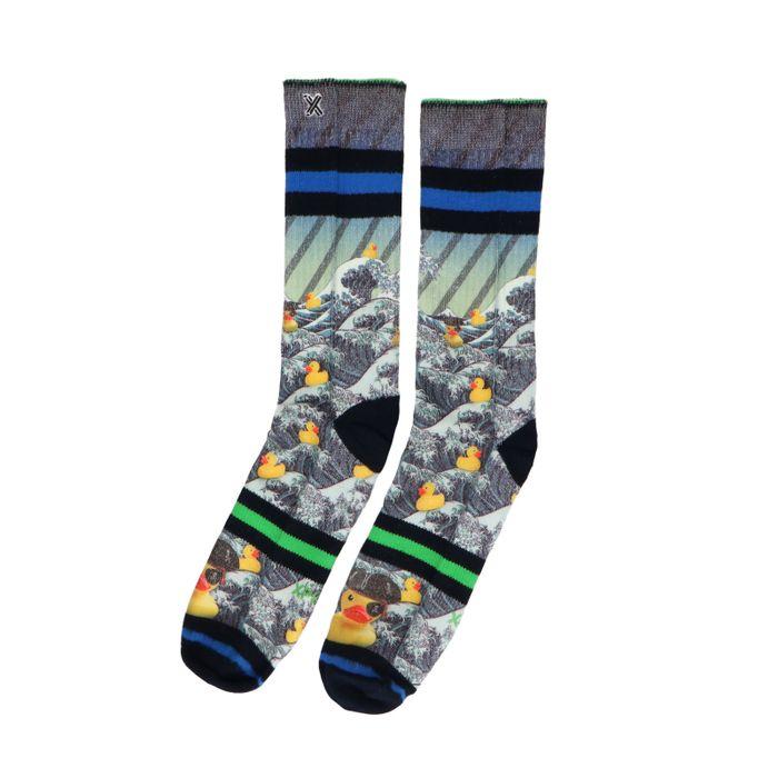 XPOOOS sokken met rubber duck print