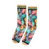 XPOOOS sokken met fluffy print