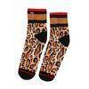 XPOOOS Socken mit Panther-Print