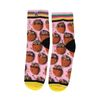 XPOOOS sokken met stroopwafel print