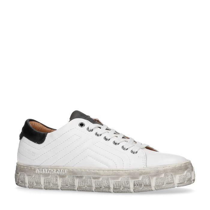 Yellow Cab New Check Y22098 Baskets - blanc
